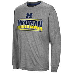Boys 8-20 Campus Heritage Michigan Wolverines Banner Tee