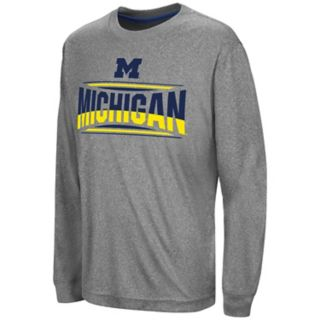 Boys 8-20 Campus Heritage Michigan Wolverines Banner Tee