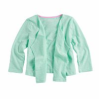 'Toddler Girl Jumping Beans® Open Front Cardigan