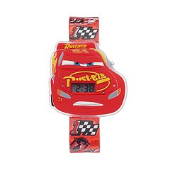 Disney / Pixar Cars 3 Lightning McQueen Kids' Digital Light-Up Watch
