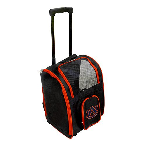 Mojo Auburn Tigers Wheeled Pet Carrier