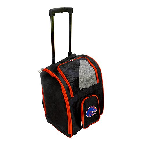 Mojo Boise State Broncos Wheeled Pet Carrier