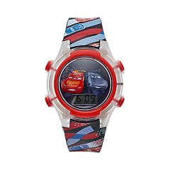 Disney / Pixar Cars 3 Lightning McQueen & Jackson Storm Kids' Digital Light-Up Watch