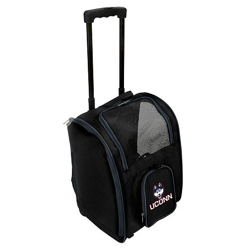 Mojo UConn Huskies Wheeled Pet Carrier