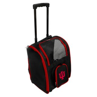 Mojo Indiana Hoosiers Wheeled Pet Carrier