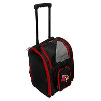 Mojo Louisville Cardinals Wheeled Pet Carrier
