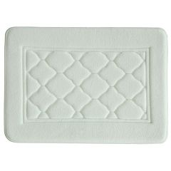 Bacova Florence Microban Antimicrobial Memory Foam Bath Rug