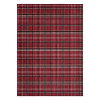 Nourison Grafix Plaid Rug