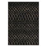 Nourison Grafix Striped Lattice Rug