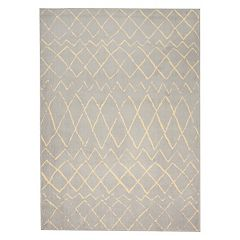 Nourison Grafix Striped Lattice Rug