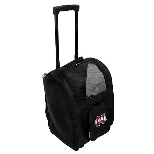 Mojo Mississippi State Bulldogs Wheeled Pet Carrier