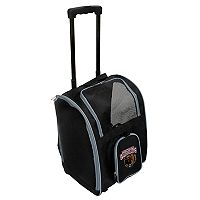 Mojo Montana Grizzlies Wheeled Pet Carrier