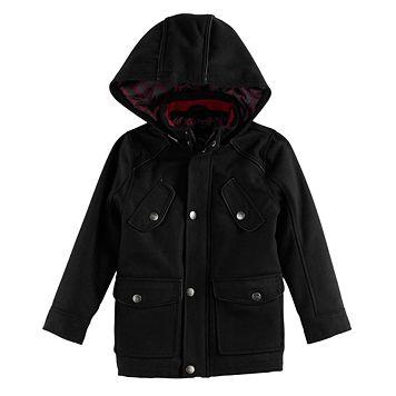 Toddler Boy Urban Republic Wool Military Midweight Jacket