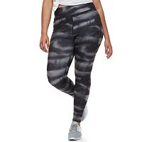 Juniors' Plus Size SO® Graphic High-Waist Yoga Leggings