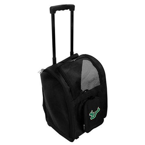 Mojo South Florida Bulls Wheeled Pet Carrier