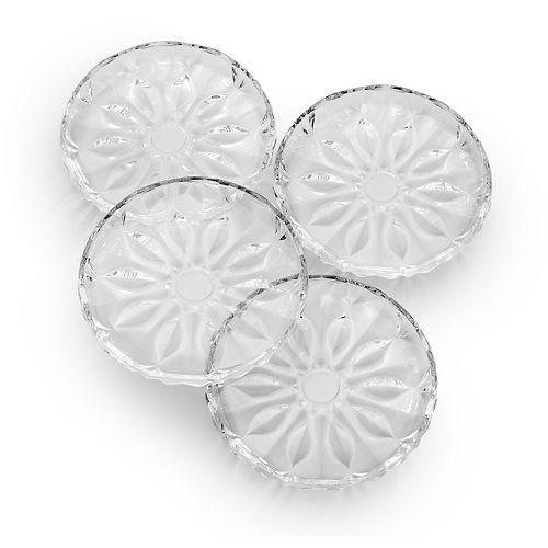 Mikasa Blossom 4-pc. Appetizer Plate Set