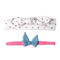 Baby Girl OshKosh B'gosh® 2-pk. Bows Head Wrap Set