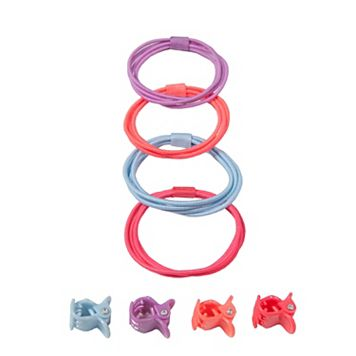 Girls 4-16 OshKosh B'gosh® 8-pk. Hair Ties & Clips Set