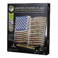 NSI United States Flag 3D Coin Art Set