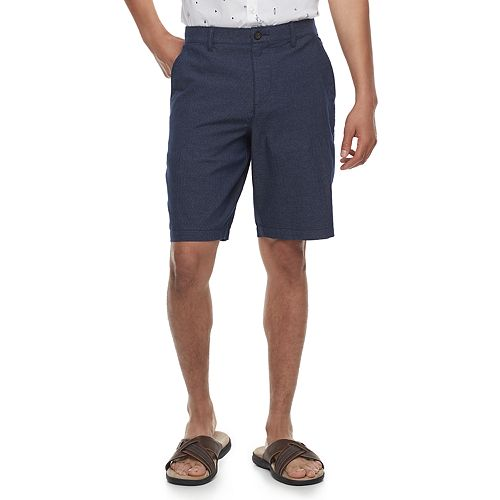 Men's Marc Anthony Slim-Fit Textured Stretch Shorts