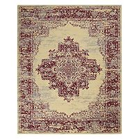 Nourison Grafix Framed Medallion Rug