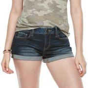 Juniors' SO® Cuffed Jean Shorts
