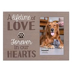 Malden 'Love' Paw Print 4' x 6' Frame