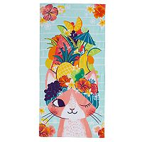 Jumping Beans® Tropical Cat Beach Towel