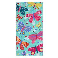 Jumping Beans® Butterflies Beach Towel