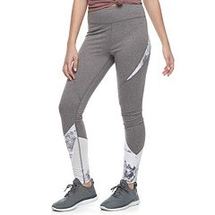 Juniors' SO® Mesh Inset High-Waisted Yoga Leggings