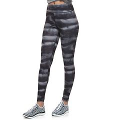 Juniors' SO® Graphic High-Waisted Yoga Leggings