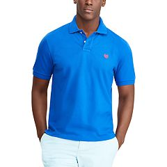 Big & Tall Chaps Easy Care Solid Polo Shirt