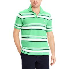 Big & Tall Chaps Striped Polo Shirt