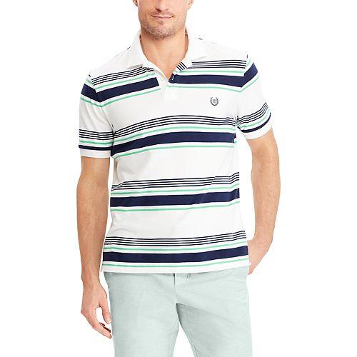 Big & Tall Chaps Striped Polo Shirt