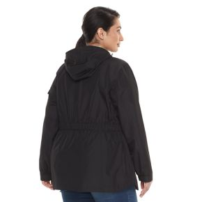 Plus Size Free Country Radiance Lightweight Hooded Jacket