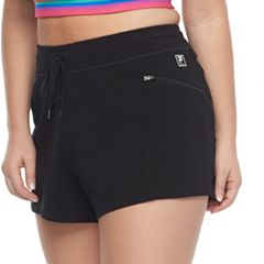 Plus Size FILA SPORT® Zip Pocket Drawstring Shorts
