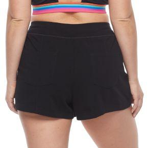 Plus Size FILA SPORT® Zip Pocket Drawstring Shorts