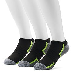 Men's Tek Gear® 3-pack Cushioned No-Show Socks