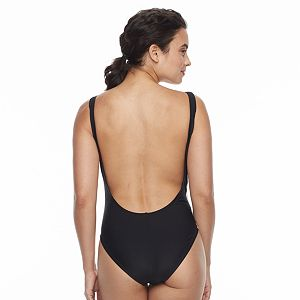 Women's adidas Core Solid Logo One-Piece Swimsuit