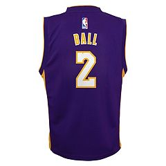 Boys 8-20 Los Angeles Lakers Lonzo Ball Replica Jersey
