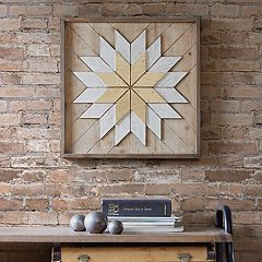 INK+IVY Solis Wood Wall Decor