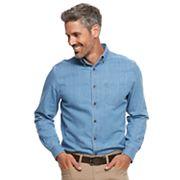 Men's Croft & Barrow® Classic-Fit Solid Button-Down Shirt