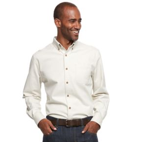 Men's Croft & Barrow® Classic-Fit Solid Button-Down Shirt