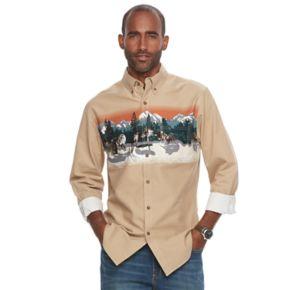 Men's Croft & Barrow® Classic-Fit Twill Outdoor Button-Down Shirt