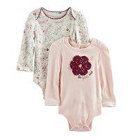 Baby Girl Baby Starters 2-pk. Flower Print &