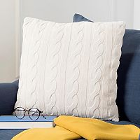Safavieh Sweater Knit Throw Pillow