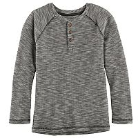 Boys 4-7x SONOMA Goods for Life™ Raglan Thermal Henley