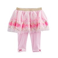 Baby Girl Baby Starters Scalloped Tutu Leggings