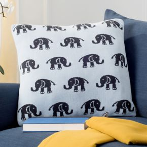 Safavieh Baby Elephant Throw Pillow
