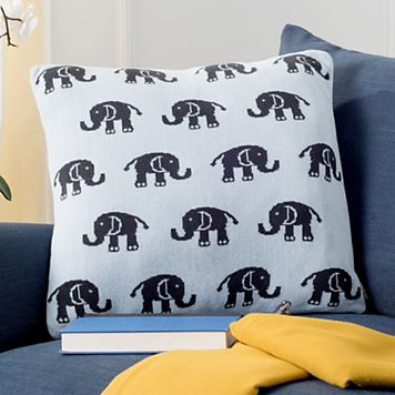 Safavieh Baby Elephant Throw Pillow